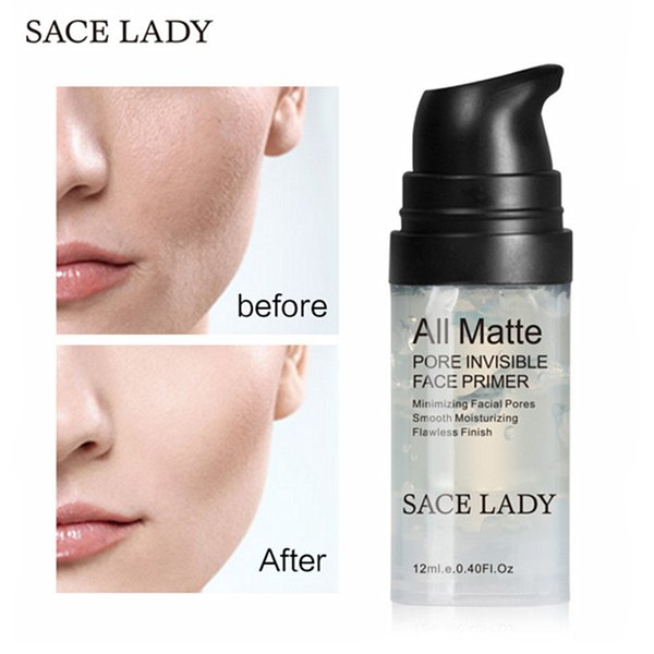 SACE LADY 6ML Face Base Primer Super Match Cosmetic All Matte Pore Invisible Face Cream Primer Suave Línea Fina Iluminar Maquillaje Facial GEL