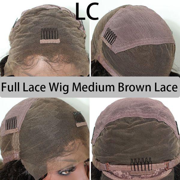 Medium Brown Lace