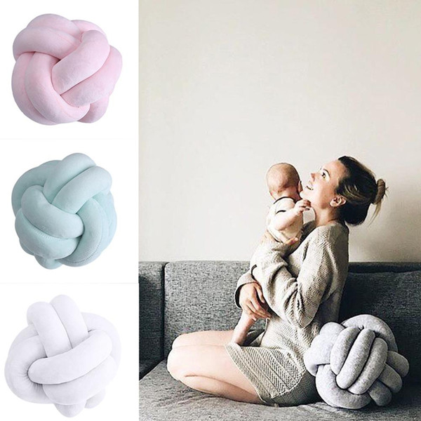 Awe Inspiring Creative 18Cm Knotted Ball Cushion Throw Pillow Waist Back Cushion Home Sofa Bed Decor Dolls Toys For Kids Cushions For Wicker Furniture Outdoor Short Links Chair Design For Home Short Linksinfo