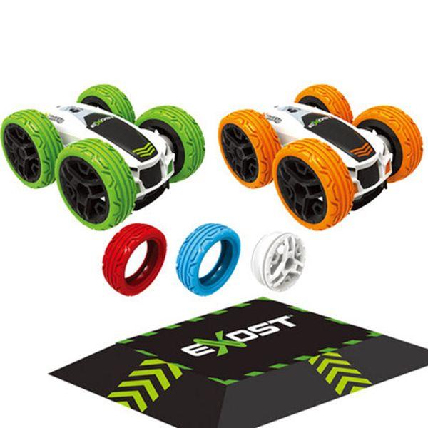 Silverlit 2 Mini Filp+Accessories Kids Boy Buggies DIY 4WD Electric Remote Controller Cars Kids Toys 5Y+ 07