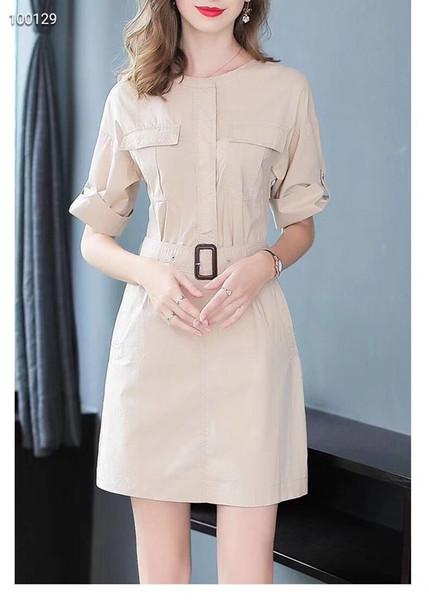 Slim Dress Elegant Womens Goddess Van Dress Casual Tendance Nouvelle Robe de haute qualité