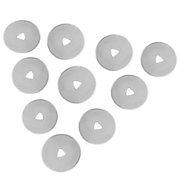 Strumenti 5pcs 28mm 28mm Blocchetti rotanti Taglierine Tessuto Carta circolare Tagliata Patchwork in pelle Craft Rotary Cutter Refill Refill Refill Sostituzione Blades Nuovo