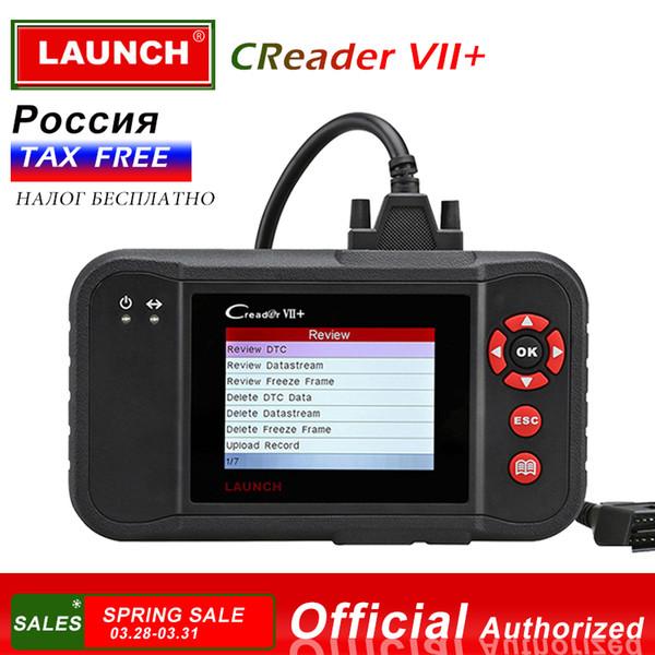 Launch X431 Creader VII Plus OBD Code Reader ECU OBDII Scanner CRP123 ENG AT ABS SRS System Code Scanner obd2 Diagnostic Tool