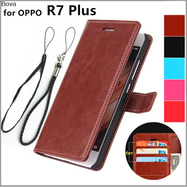 OPPO R7 6.0-inch inch card holder cover case for Oppo R7 Plus leather phone case wallet flip cover Quality Holster