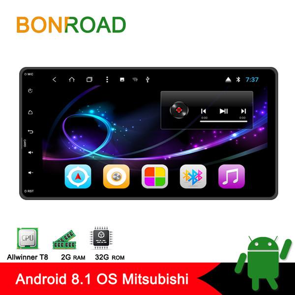 Lettore multimediale per auto Android 8.1 Bonroad 2din per Mitsubishi outlander 3 lancer asx 2012-14 Lettore radio di navigazione GPS no dvd car dvd