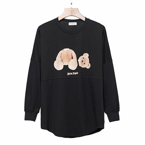 top popular Palm Angels Hoodie Hip Hop Beheaded Bear Designer Hoodie Men Women High Quality Mens Designer Hoodies Size S-XL 2019