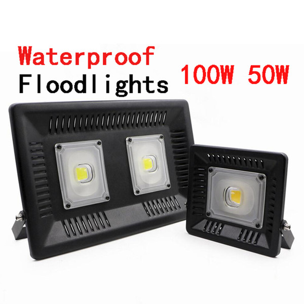 Waterproof Ip65 Floodlights Outdoor Wall Garden Spot Refletor Exterior Foco Lamp 50w 100w Indoor Led Flood Light Garden Spotlights Halogen Flood Light