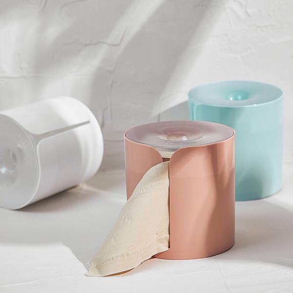 1pc Scatola di fazzoletti da bagno impermeabile Scatola di carta igienica in plastica Scatola di immagazzinaggio per tessuti a parete Organizer per dispenser di tovaglioli
