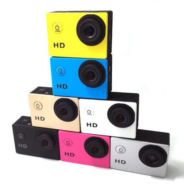 Cópia mais barata para SJ4000 A9 estilo de 2 Polegadas Tela LCD mini Esportes câmera 1080 P Full HD Action Camera 30 M À Prova D 'Água Filmadoras Capacete esporte DV