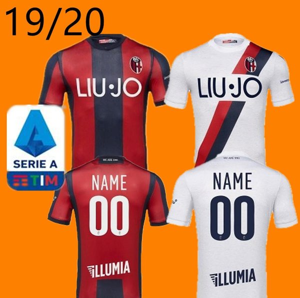 Free 19 20 Bologna soccer jerseys 110th Anniversary 2019 2020 home third Orsolini Soriano Sansone Skov Olsen limited-edition football shirts