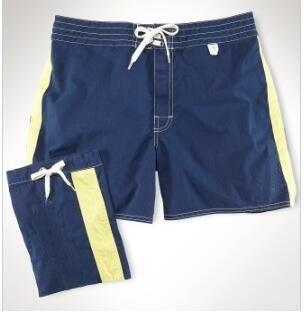 Vida nova homens sólidos polo calças curtas pônei bordado moda meninos clássico esporte troncos respirável masculino praia shorts vermelho azul marinho