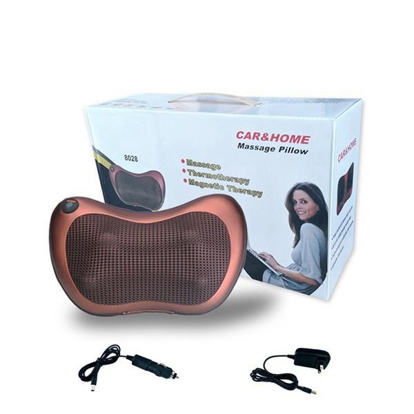 Hause Auto Shiatsu Massagekissen Gerät Mit Heizung Elektrische Multifunktionale Nacken Schulter Taille Entspannen Schmerzen Mp0205 T190712
