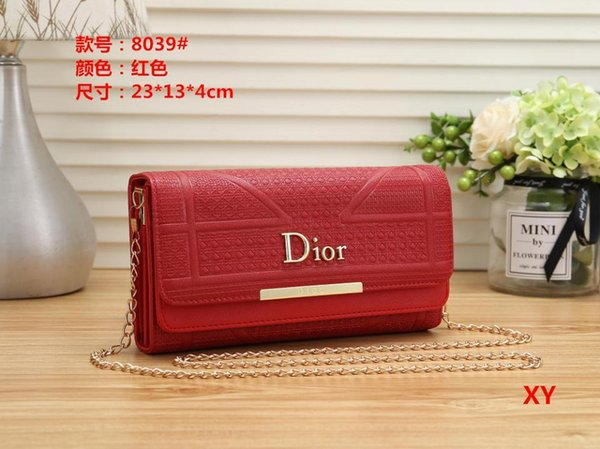 New Diamond Lattice Women Chain Shoulder Bags Messenger Bag Ladies Handbag Clutch Wallet Cosmetic Bags Tote Shopping Bag Tote Purse Wallet03
