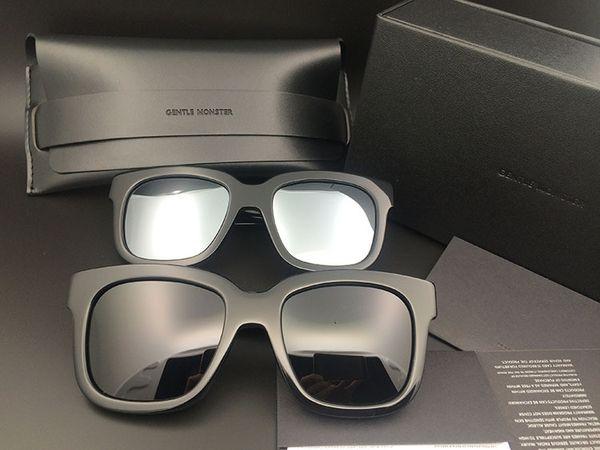 Роскошные-GM солнцезащитные очки бренд солнцезащитные очки известный нежный дизайнер высокое качество вождения очки старая школа монстр очки Очки