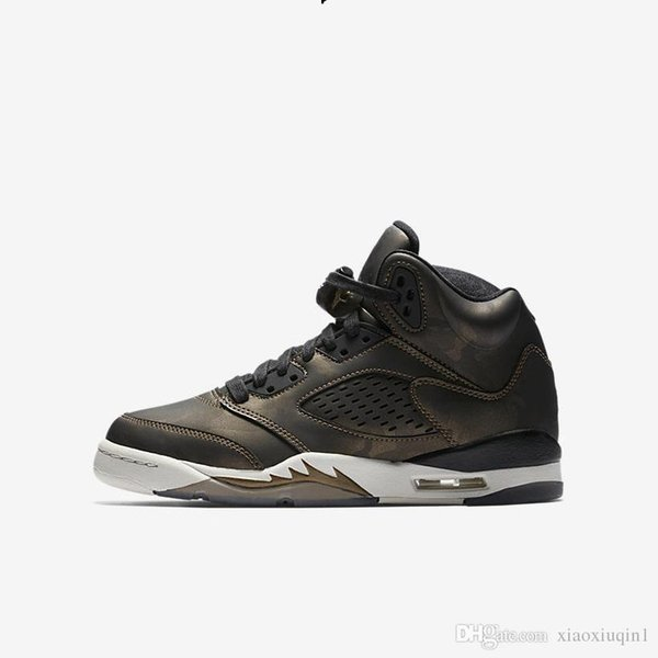 Herren AJ5 Basketballschuhe Retro Jumpman J5 Air Flight Premium Bordeaux Pinnacle schwarz AJ 5 Kinder Turnschuhe Stiefel mit original Box Größe 7-13