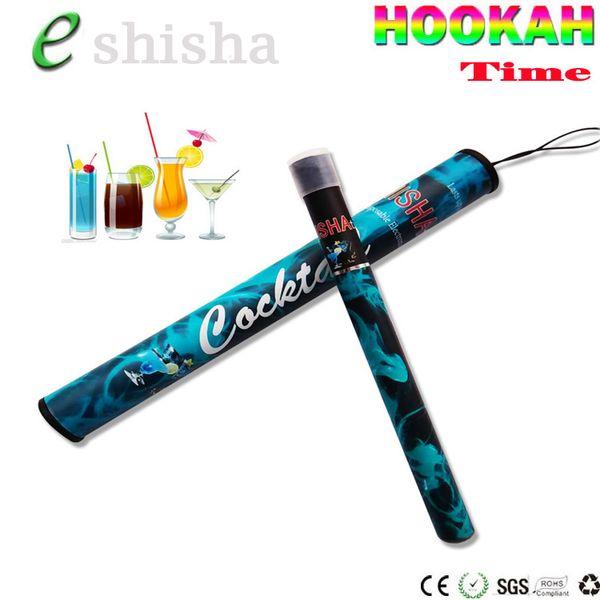 ShiSha Time E Hookah 500 Puffs Pipe Pen Electronic Cigarette Smoking Pipes Stick Sticks Shisha Hookah disposable e cigarette