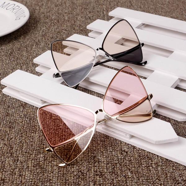 Vieeoease Kızlar Güneş Gözlüğü 2019 Yaz Moda Bebek boomer Kelebek güneş gözlükleri anti ultraviyole çocuk güneş gözlüğü CC-313