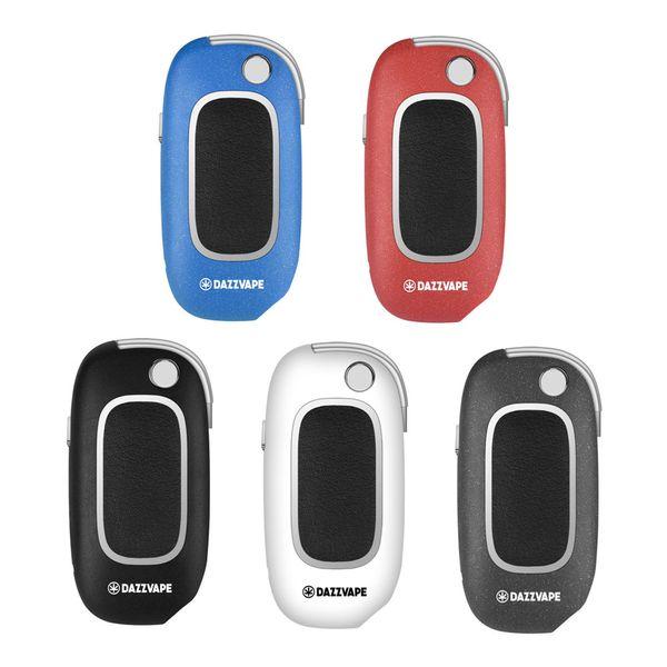 100% Original Dazzvape U-Key Bateria 400mAh VV Tensão Variável 1.0 a 3.0 Ohm ecig bateria para 510 Espessura Cartuchos de Óleo Caixa Chave Mod