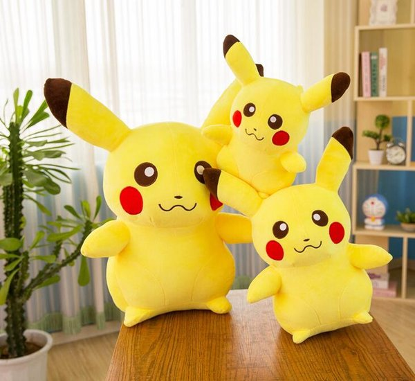 best selling Best-selling detective Pikachu Plush Doll 20 35cm Pikachu plush toy cartoon plush toy soft best gift manufacturers wholesale