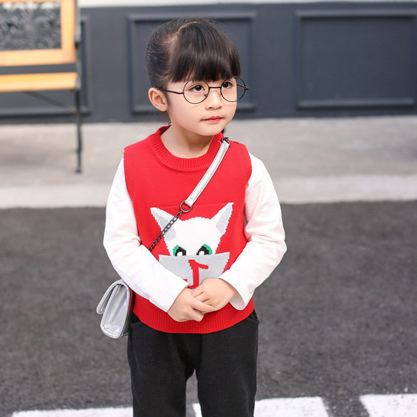 0-4 years High quality boy girl clothing set 2019 new spring fashion kid suit children baby clothing vest+T-shirt+pant 3pcs