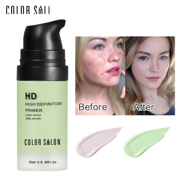 Color Salon Face Color Corrector Cream Base Primer Makeup Facial Liquid Concealer Make Up Professional Natural Brand Cosmetic