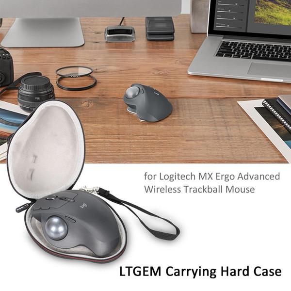 LTGEM EVA Hard Travel Чехол для беспроводной беспроводной мыши MX ERGO Advanced