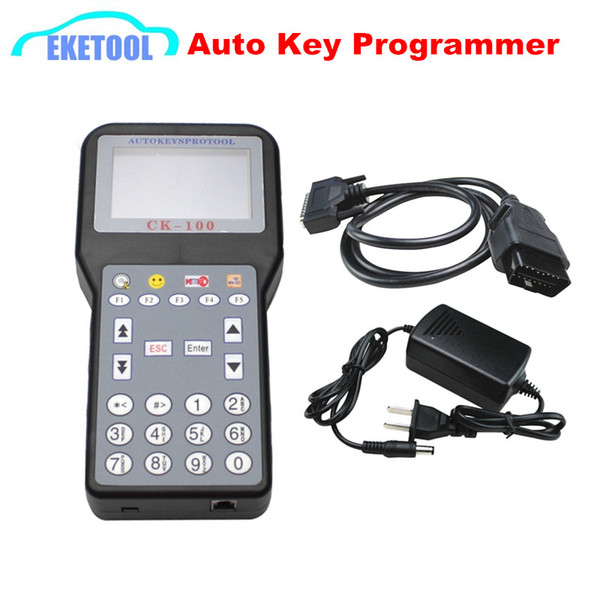 CK100 Auto Key Programmer Immobilizer Transponder Latest V99.99 Works Multi Cars CK 100 No Tokens 7Language CK 100 Newest of SBB