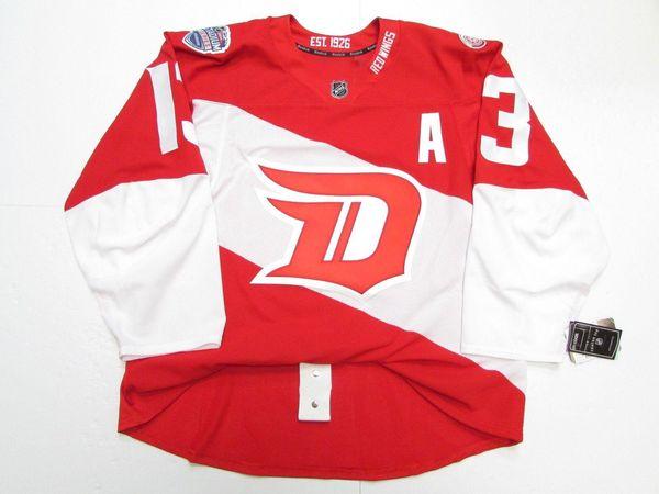 Cheap custom DATSYUK DETROIT RED WINGS 2016 STADIUM SERIES JERSEY stitch add any number any name Mens Hockey Jersey XS-5XL