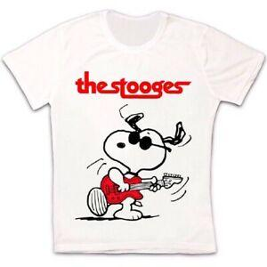 Snoopy Iggy Pop The Stooges RoBrand Band Music Vintage Gift Unisex T Shirt 2717