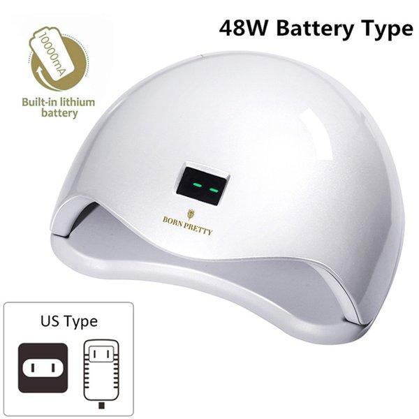 48W Battery White