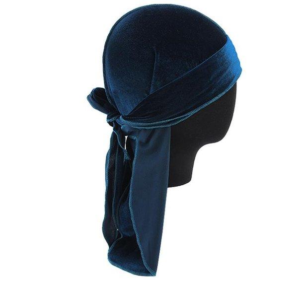bleu paon