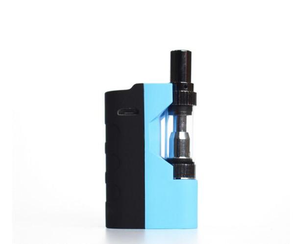 Коробка картриджа с сигаретным маслом. Модифицированный комплект испарителей V1. Стеклянный картридж с двумя катушками.