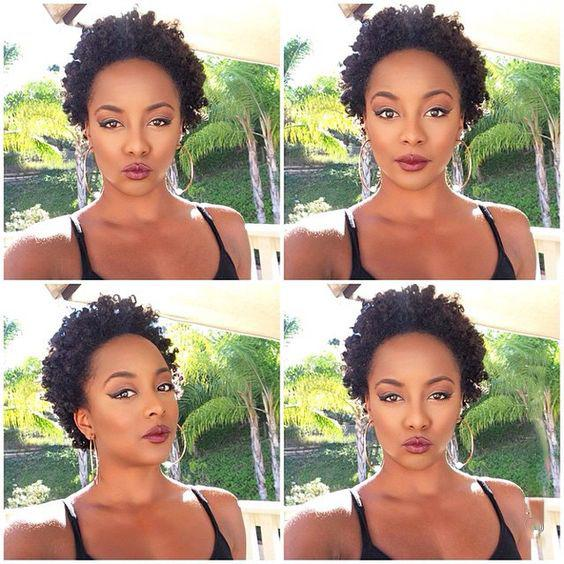 fashion beauty this new hairstyle short cut kinky curly Wig brazilian Hair Simulation Human Hair short curly wig for lady