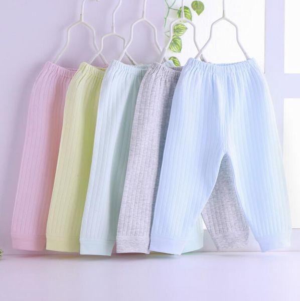 Children's cotton pant autumn and winter models boys grils baby single long pant cotton pants underwear