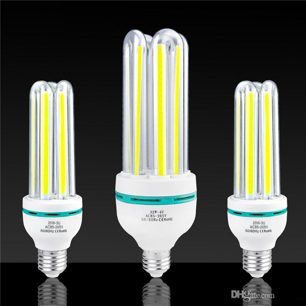E27 COB Corn Bulb LED Energy Saving lighting 3W 7W 12W 20W 32W Lighting bulb Cafe school library factory Office home Indoor lamp