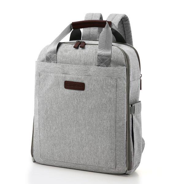 TOMSHOO portátil mochila de viaje antirrobo delgada del bolso del ordenador resistente al agua portátiles Mochila para la universidad de negocios al aire libre