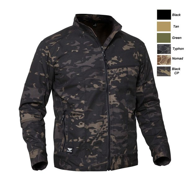 best selling Outdoor Sports Woodland Hunting Clothing Shooting Coat Tactical Combat Clothing Camouflage Windbreaker Tactical Outdoor Jacket P05-208