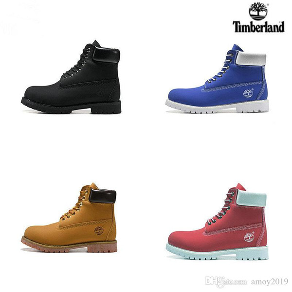 2019 New Timberland botas Men Designer Sports Shoes Sneakers Casual Trainers Mens Womens Luxury Brand timberlands boots