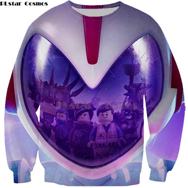 PLstar Cosmos 3D swearshirt new moviesLegoinglys Men Women 3D Print Casual Unisex Harajuku hoodies sweatshirt shirt legoings