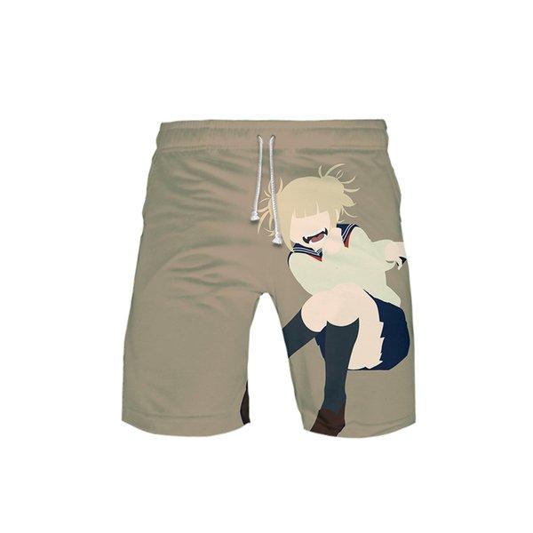 Coole Himiko Toga Grafik 3D Shorts Hosen Herren Damen Unisex Sommer Himiko Toga Bekleidung Big Size 5XL 6XL Hip Hop Streetwear
