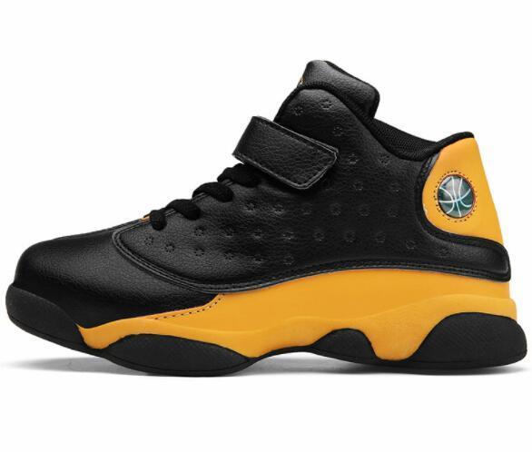 Acheter NOUVEAU Hot Chaussures De Basket Ball Pour Enfants Rétros Enfants De Sport Chaussures Garçons Filles Jeunes Taille Sneakers Athletic Noir: 28