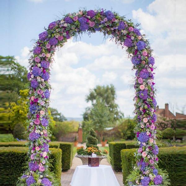Decorative wedding arch flower stand garden background wedding road lead decoration Vine flower Event Party Supplies Outdoor Display