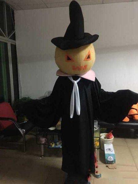 alta qualidade Hallowmas preto zumbis traje da mascote para adultos frete grátis
