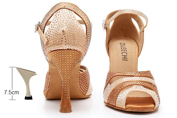 bronze heel 75mm