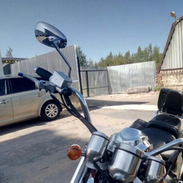 Pour côté moto Miroirs Miroirs Pour Rearview Yamaha VSTAR 400 650 1100 1300 Virago Xv 250 535 750 1100 Road Star personnalisée