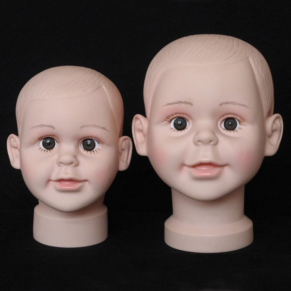 Fashion 1PCS Child Mannequin Manikin Head Model For Wig Hat Mould Show Display Stand Display wig hairs fast sending free ship