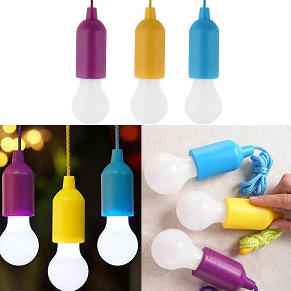 Lampada a LED portatile a tirante Lampadina Illuminazione da esterno Giardino professionale Lampada da campeggio a sospensione a LED AAA Batteria non inclusa