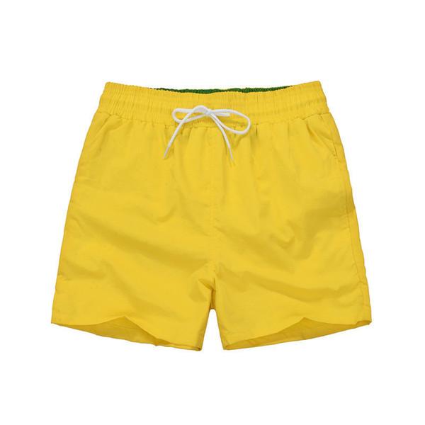 로고가있는 노랑색