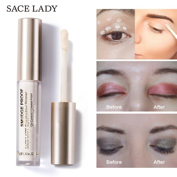 Sace Lady Eye Shadow Primer Make Up Natural Professional Cosmetic Eyeshadow Base Cream Long-lasting Palette Waterproof Makeup