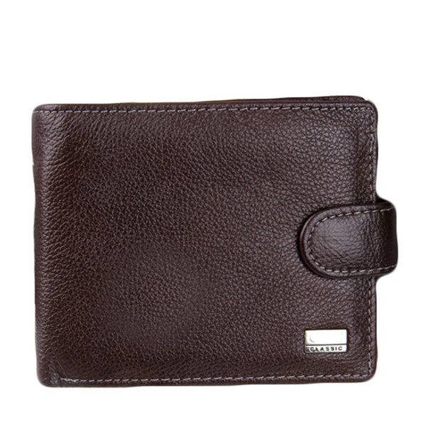 Mr.ylls Echtes Leder Brieftasche Männer Kurze Brieftaschen Visitenkarte Id Halter Marke Geldbörsen Hohe Qualität Design Münze Männlich 2019 Neue